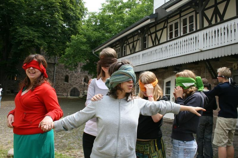 Martina pracovala devět měsíců v Německu ve volnočasovém centru. Foto: archiv Martiny Vondráčkové